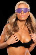 2025 - X-play purple blindfold in Non-Leather Accessories