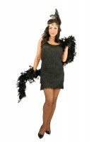 Plus Fashion Flapper Dress