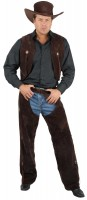 Mens Suede Chaps And Vest