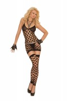 1559 Dress,g-string,footless Thigh High