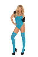 1569q Lace Teddy  With Matching Thigh Hi