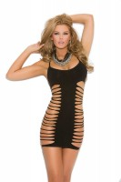 8768 - Mini Dress With Cut Out Side Detail