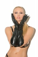 L9419 - Long Leather Gloves