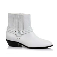 129-REBEL - White Patent