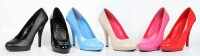 "521-FEMME-W - Red - 5""  Heel  Width Pumps. in New Arrivals"