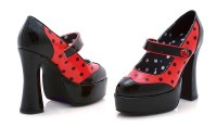 Halloween 557-LADYBUG - Black Red