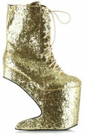Bettie Page Bettie Page BP579-Chablis - Gold Glitter