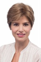 Petite Leslie High Society - Monofilament Wig