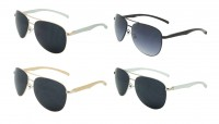 Aviator Aluminum Sunglasses 40-MAR