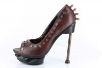 Iron Punk - Burgundy Pu