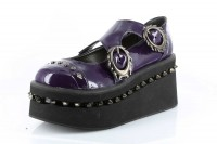 Lillian - Purple  Patent