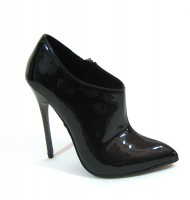 Fierce-91-sc - Black Patent Pu