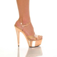 Amber-821-elc - Blush Metallic Pu