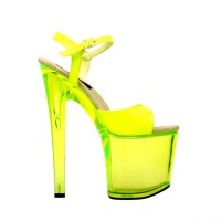 Fantasy-101 Neon Yellow Patent SPECIAL