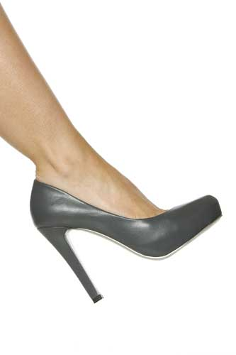 Hollywood Heels Fall Hideout SPECIAL - 4 1/2 Inch  Heel with 1/2 Inch  Hidden platform in Specials