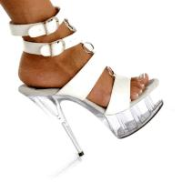 Karo Shoes 622 White Patent/Clear
