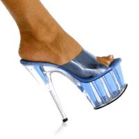 Karo Shoes 835 Royal Blue Tint/Clear