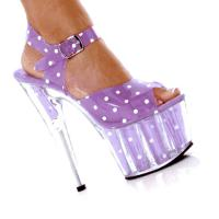 Karo Shoes 0032 Polka Dots - Baby Pink
