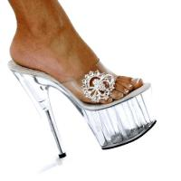 Karo Shoes 936 Clear-Crystal/Clear