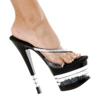 Karo Shoes 907 Clear/Black LA