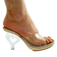 Karo Shoes 3121 Clear/Wood