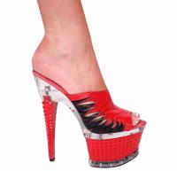 Karo Shoes 3267 - Red-Black