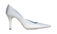 Le Dame Footwear Sharon Silver in Mens Sizes