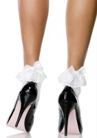 Stocking Bow&lace Ruffle