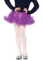Girl Petticoats Med/lge Purple