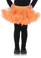 Girl Petticoats Med/lge Orange