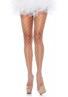 Fence Net Pantyhose O/s White
