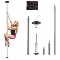 Classic G2 Portable Dance Pole - 42mm or 45mm - Stainless Steel