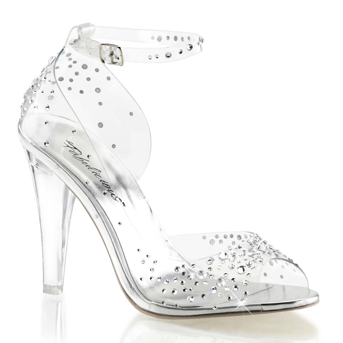 Womens Clear Cinderella Shoes