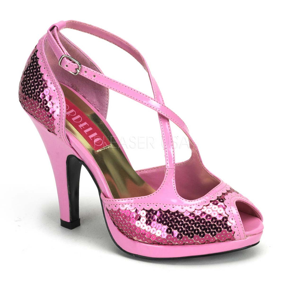 Pleaser Bordello Womens Siren-04 Sandal
