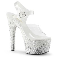ADORE-708MR-5 - Clear White Silver