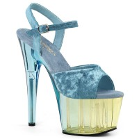 Adore-709MCT - Light Blue Crushed Velvet Dual Tinted