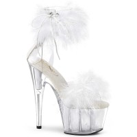 Adore-724F - Clear White Fur
