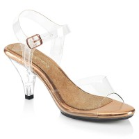 Belle-308 - Clear Rose Gold