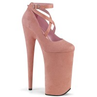 Beyond-087FS - Pink Faux Suede