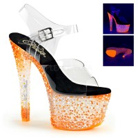 CRYSTALIZE-308PS - Clear Neon Icy Tangerine