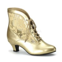 Funtasma Dame-05 - Gold Pu-Lace
