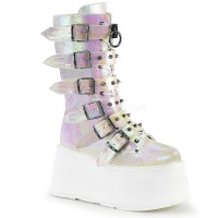 Damned-225 - Pearl Iridescent Vegan Leather