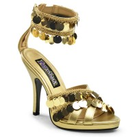 Funtasma Gypsy-03 - Gold Pu