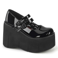 Kera-08 - Black Patent - Size 5 SPECIAL