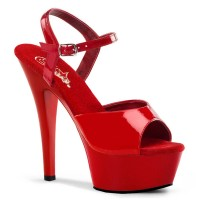 Kiss-209 - Red Patent/Red