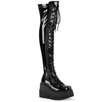 Shaker-374 - Black Stretch Patent