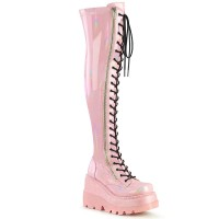 Shaker-374 - Pink Hologram Stretch Patent