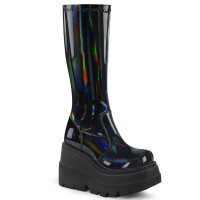 Shaker-65 - Stretch Black Pat Hologram