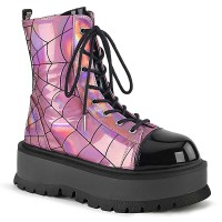Slacker-88 - Pink Hologram Black Pat