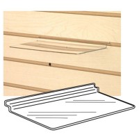 Accessories Ss-01 - Clear Acrylic Slatwall Shelf